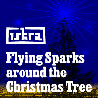Iskra - Funkenflug 2009-12-21: Flying Sparks Around The Christmas Tree [en thumb]